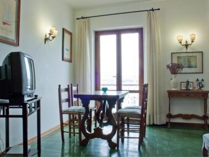 Mareblu, quadrilocale per vacanze a Marina di Campo, zona pranzo