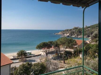 Isola d'Elba, Appartamento Gabriella a Cavoli, vista dalle camere
