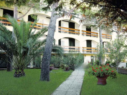 Hotel Meridiana Marina di Campo fronte