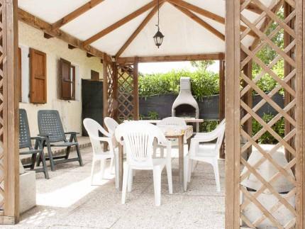 Casa Livia, villetta con giardino a Marina di Campo, Gazebo esterno