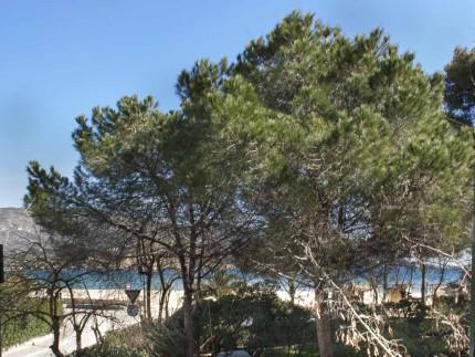 Casa La Spiaggia 1 a Marina di Campo, Vista mare dalla camera matrimoniale