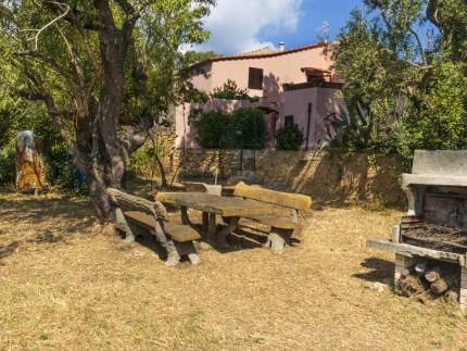 Appartamento Il Pino all'Isola d'Elba, Barbecue