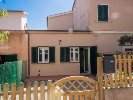 Mandorlo Ferienwohnung auf der Insel Elba, Fassade