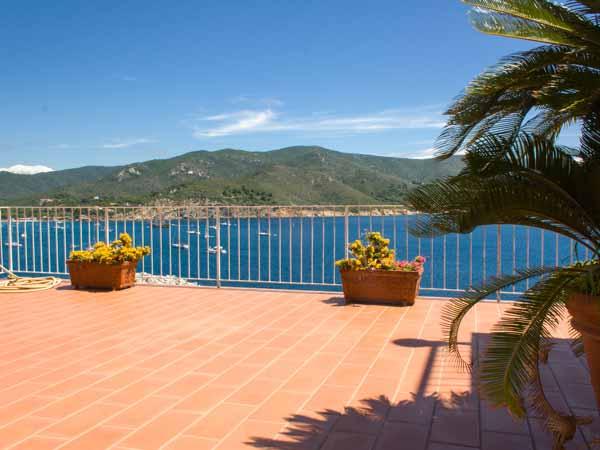 Apartments Terrazza sul mare: Villa with stunning seaview on Elba ...