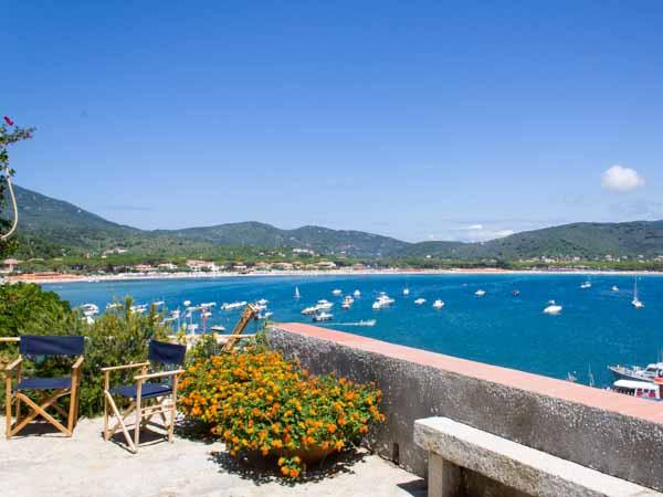 Wohnungen Terrazza sul Mare Villa in Marina di Campo Isola D\'Elba ...
