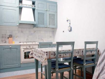 Appartamento Celeste, bilocale all'Isola d'Elba, cucina