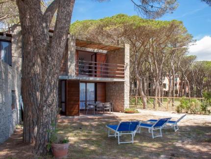 Villa Rossi sul mare Marina di Campo Esterni_7