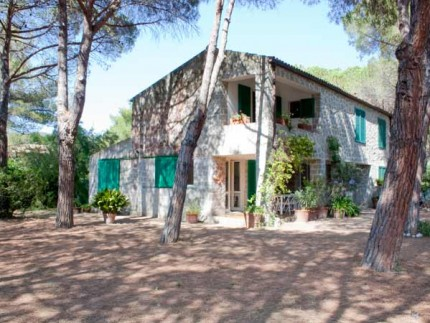 Cristina two bedroom apartment on Elba Island, house in the pinewood