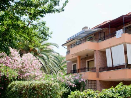 Stella, holiday accomodation on Elba Island, external view