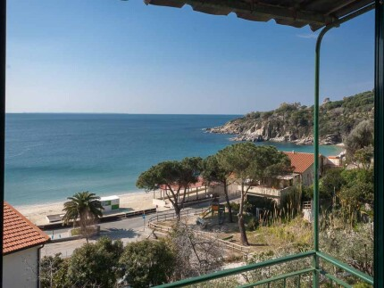 Gabriella, holiday accomodation on Elba Island, view from the bedrooms