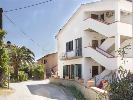 Ottavia, holiday apartment on Elba Island, front view