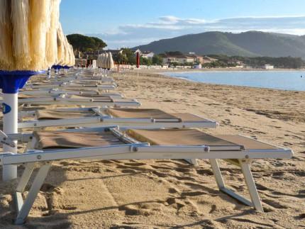 Vacanze a Marina di Campo-Spiaggia