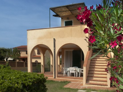 Ginestre two room apartment  on Elba Island, Veranda