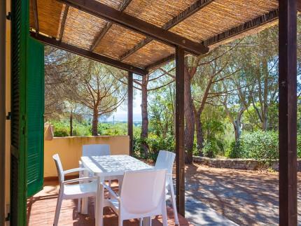 Sughere Casetta, Casa vacanze a Marina di Campo, Veranda