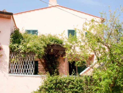 La Pila Piano terra, holiday apartment on Elba Island, external area