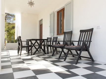 Menta Urlaub Wohnung auf der Insel Elba, Terrasse