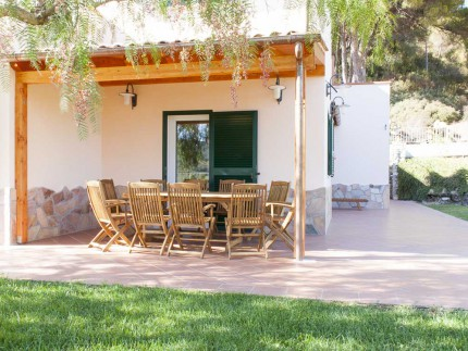 Villa Sofia, Villa for rent on Elba Island, Outdoor area