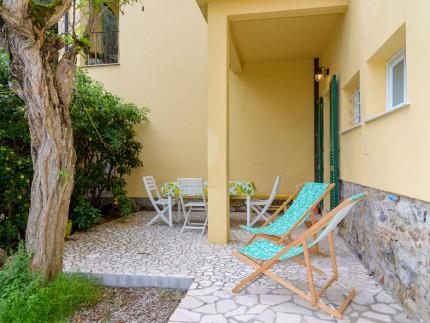 Casa La spiaggia 2, Ferienwohnung auf der Insel Elba, Aussenzone
