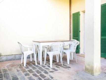Casa La spiaggia 2 a Marina di Campo, Spazio esterno attrezzato