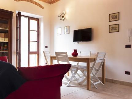 Casa La Spiaggia 1, Ferienwohnung auf der Insel Elba, Esstisch