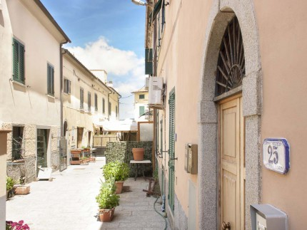 Grazia A, Holiday apartment in Elba Island, view of the street in front of the apartment
