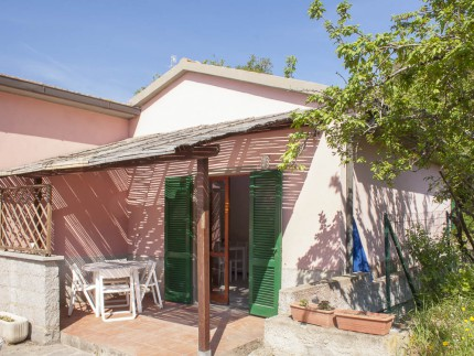 Luca Bilocale, Ferienwohnung auf der Insel Elba, Veranda