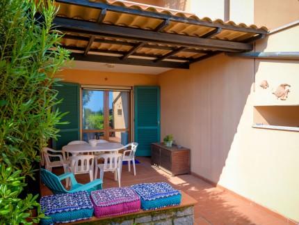 Appartamento Poggio del Gabbiano, Isola d'Elba ingresso
