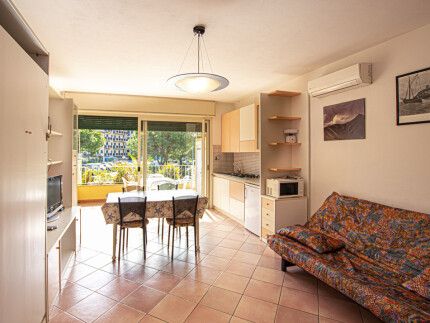 Apartment Girasole living room