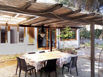 Villa la spiaggia, holiday accomodation on Elba Island, outdoor table