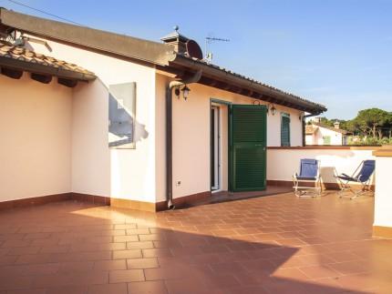 Villetta Federica, holiday accomodation on Elba Island, terrace