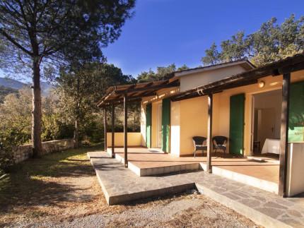 Sughere Casetta 2, Ferienhaus auf der Insel Elba, Aussenblick