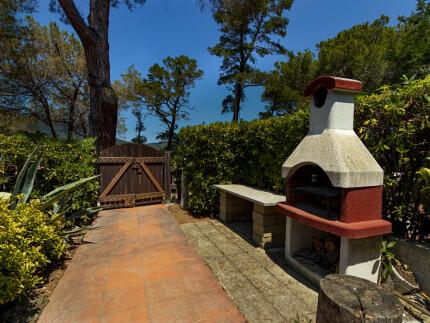 Appartamento Salita Ulivi 2 a Marina di Campo,spazio esterno con vista mare